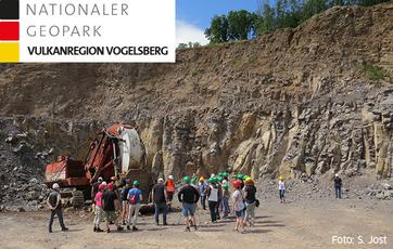 Bildlink zur Seite des Nationalen Geoparks Vulkanregion Vogelsberg